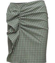 farina skirt kort kjol grön designers, remix
