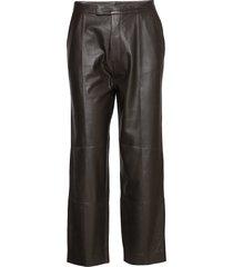 day pigeon leather leggings/broek zwart day birger et mikkelsen