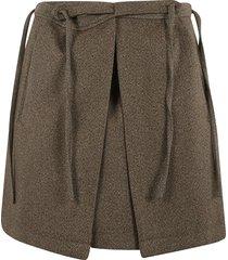 plan c diagonal cover short skirt