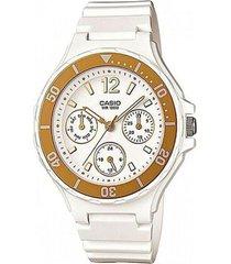 reloj blanco casio lrw-250h-9a1vdf - superbrands