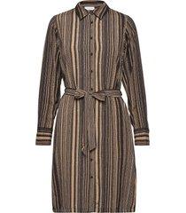 fqgili-dr dresses shirt dresses brun free/quent