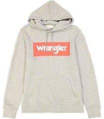sweater wrangler sweatshirt à capuche logo