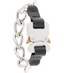 1017 alyx 9sm chain link bracelet - black