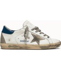 golden goose deluxe brand sneakers super star colore bianco