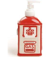 saboneteira sabonete líquido decoração natal 17x7cm vermelho