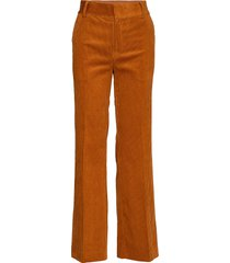 jazlyniw bootcut pant wijde broek bruin inwear