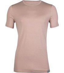 rj bodywear good life t-shirt round neck sand