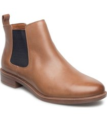 taylor shine shoes boots ankle boots ankle boots flat heel brun clarks
