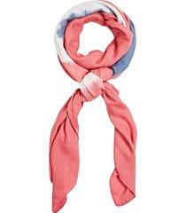 pañuelo estampado rosado esprit