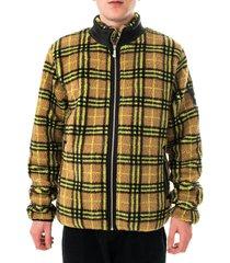 shoe felpa uomo all over zip sherpa jacket joshua64