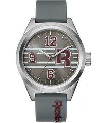 reloj classic r gris oscuro reebok