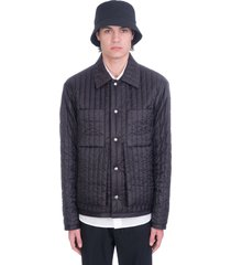 craig green casual jacket in black nylon
