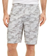id ideology men's camo-print shorts, created for macy's