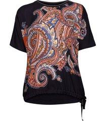 t-shirt short-sleeve t-shirts & tops short-sleeved blå gerry weber