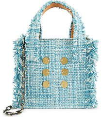 mini epiphany tweed tote