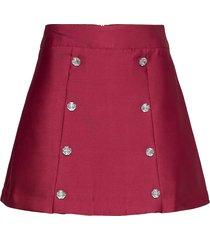 cherrycras skirt kort kjol röd cras