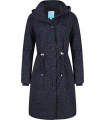 happyrainydays regenjas coat may midnight blue black-s
