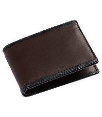jos. a. bank leather bi-fold wallet