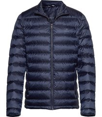 d1. the light down jacket gevoerd jack blauw gant