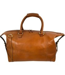 florsheim leather duffle bag