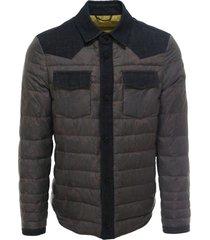 etro paisley printed shirt jacket