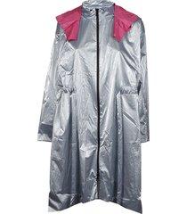 paskal high low rain coat