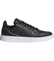 zapatilla negra adidas supercourt