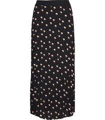 leigthoniw skirt lång kjol svart inwear