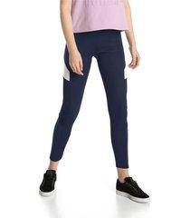 leggings - azul - puma - ref : 57651306