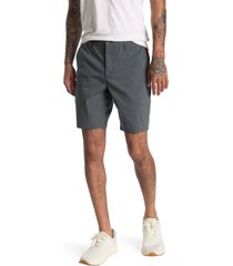 men's rag & bone flyweight chino shorts, size 38 - grey