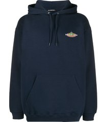 bonjour logo patch hoodie