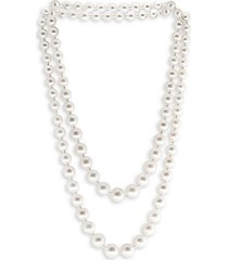10mm freshwater pearl double layered necklace