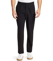 modern seersucker trousers