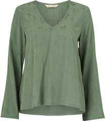 blus puzzle me together blouse