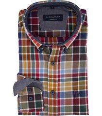 casa moda overhemd mouwlengte 7 casual fit