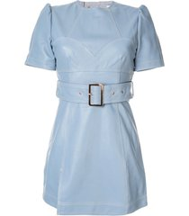 alice mccall skort mini dress - blue