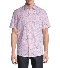 amos printed short-sleeve shirt
