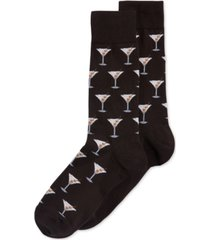 hot sox martini crew socks