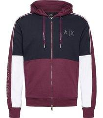 armani exchange sweatshirt hoodie trui rood armani exchange