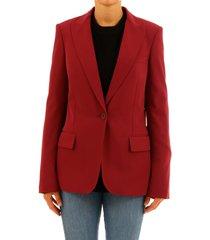 stella mccartney burgundy jacket