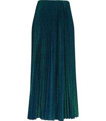 m missoni pleated lurex long skirt