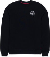 herschel trui supply co. men crewneck classic logo black white-s