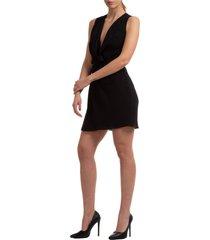 vestito abito donna corto miniabito senza maniche fidlock
