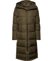 biella w coat gevoerde lange jas groen 8848 altitude