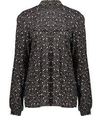 03643-20 print blouse smock