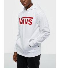 vans vans classic po hoodie tröjor white