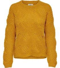 onlhavana l/s pullover knt noos golden yellow