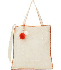 viti embroidered tote