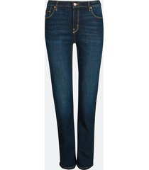 straight sarah jeans - mörkblå