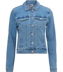 jeansjacka vmhot soya ls denim jacket mix